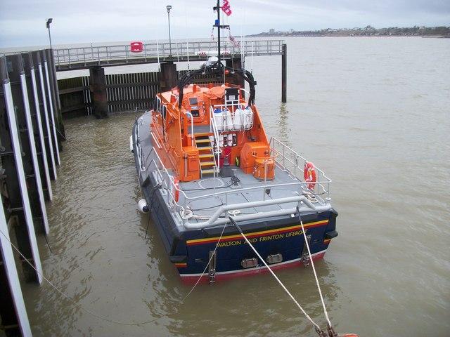 Walton and Frinton Lifeboat at Walton-on-the-Naze Pier