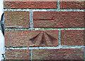 J5180 : Bench Mark, Bangor by Rossographer