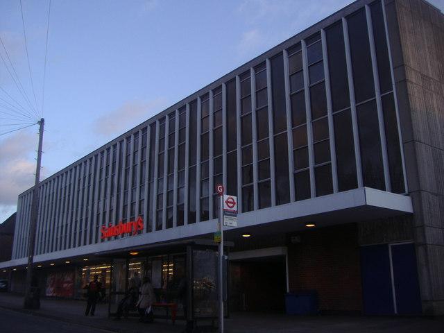 Sainsburys on Hall Lane, Chingford