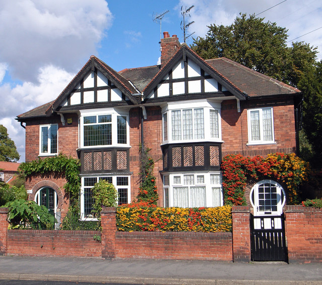 England Apartments: Semi-Detached Houses On Burgate © David Wright :: Geograph