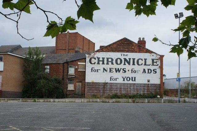 Billboard, High St, Crewe
