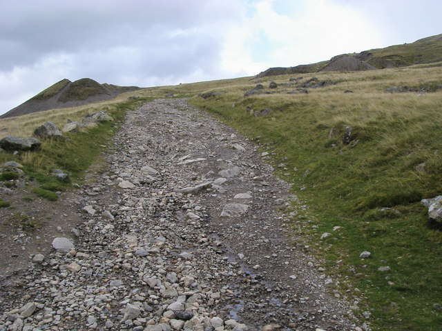 Path heading to Hausewell Brow