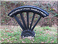 SJ9276 : Mile-wheel on the Middlewood Way by Stephen Craven