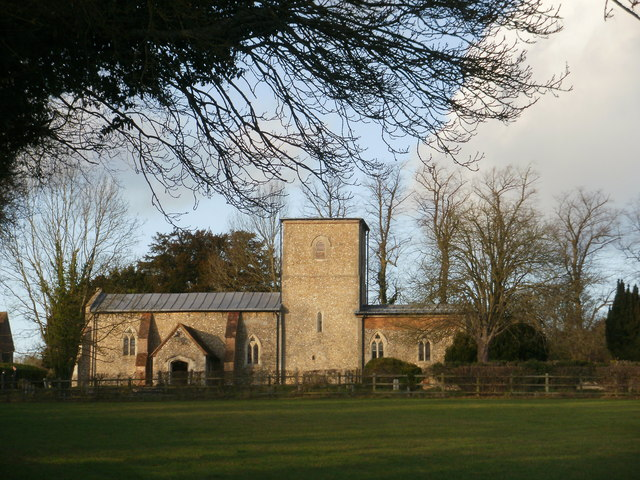 St Mary's Church, Radnage to the north-west
