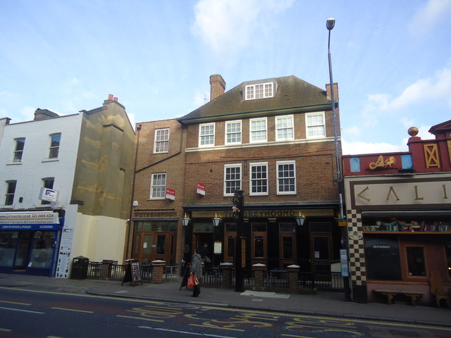 The Greyhound public house, Bromley