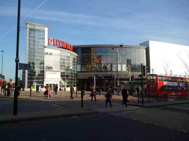 Wood Green Shopping Centre and Cinema, High Road N22