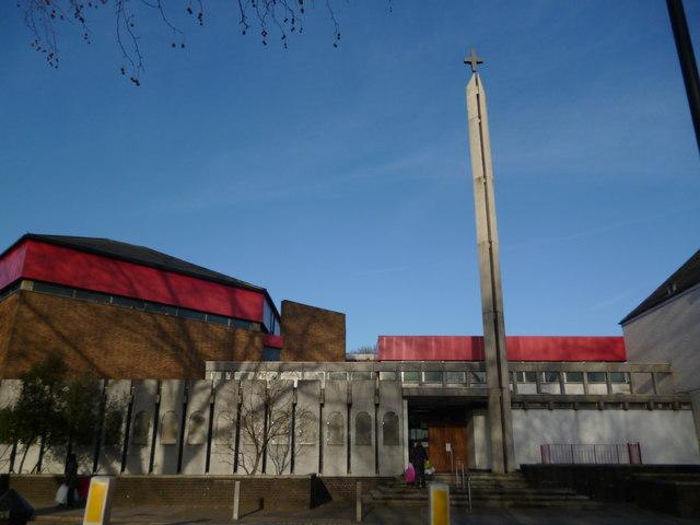 St Paul's Catholic Church, Station Road N22