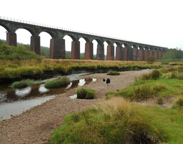 The Big Water of Fleet Viaduct