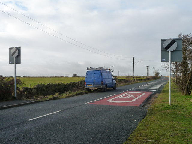 A change in the speed limit on Denby Lane