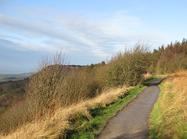 Cleveland Way at Sutton Bank