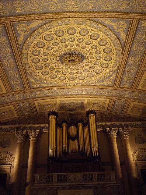 Ceiling, Greenwich Chapel