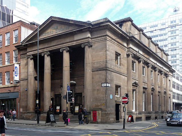 Portico Library, Mosley Street, Manchester