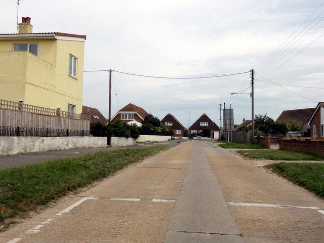 Greatstone-on-Sea, Baldwin Road
