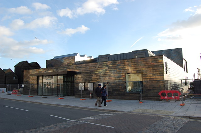 Jerwood Art Gallery, Hastings Jan 2012