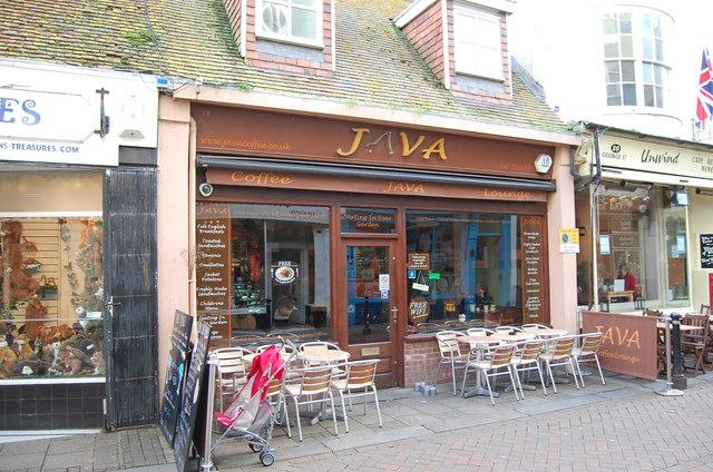 Java Coffee Lounge, George Street, Hastings