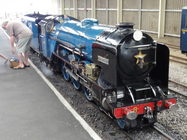 "New Romney, RH&DR Engine No. 8 ""Hurricane"""