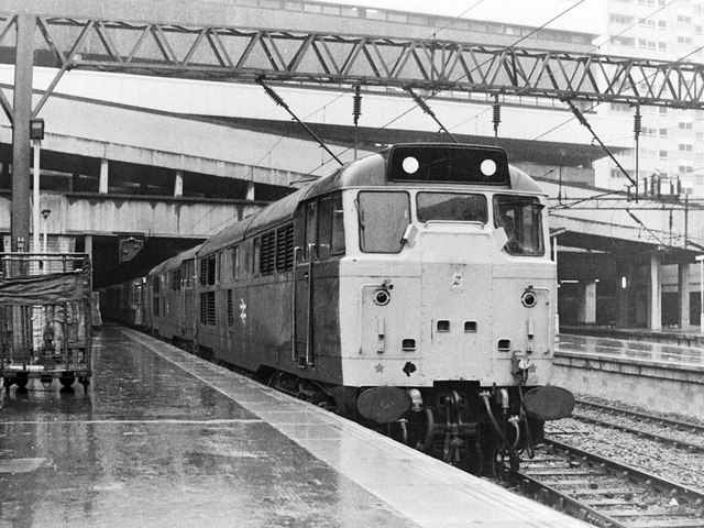 Class 31s at Birmingham New St Station, 1983