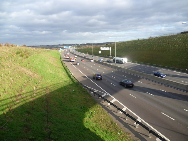 M25 from Clement Street