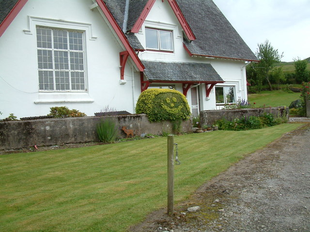 The old school house at Claggan