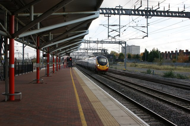 'Pendolino' at Rugby
