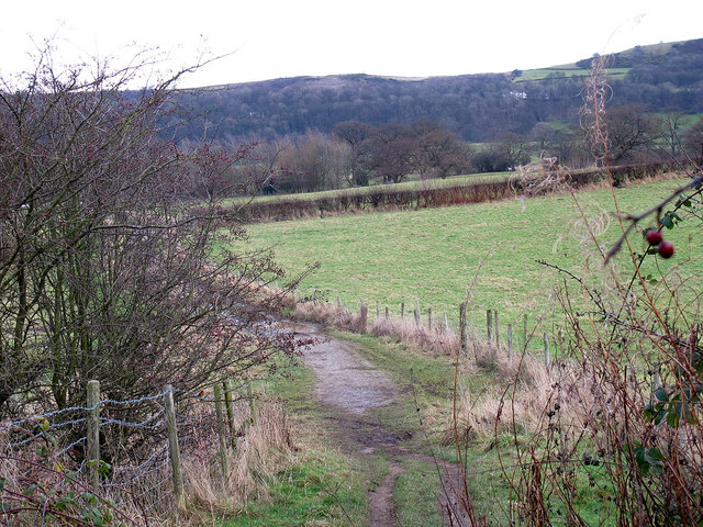 Footpath to Moat Hall