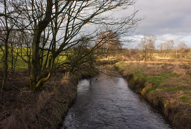 This brook marks the Metropolitan District Boundary
