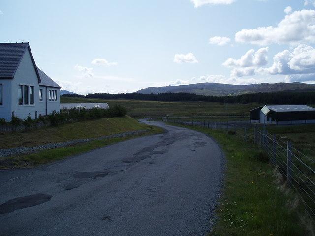 Skye Half Marathon-.Part Route