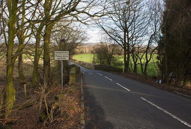 A bridge in Grimeford Lane