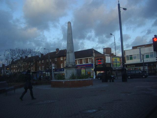 War memorial on the corner of Hall Lane, Chingford Mount