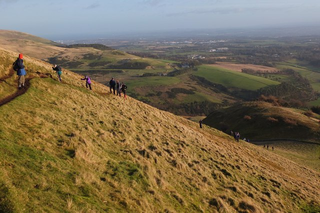 The walk will do you good, Turnhouse Hill