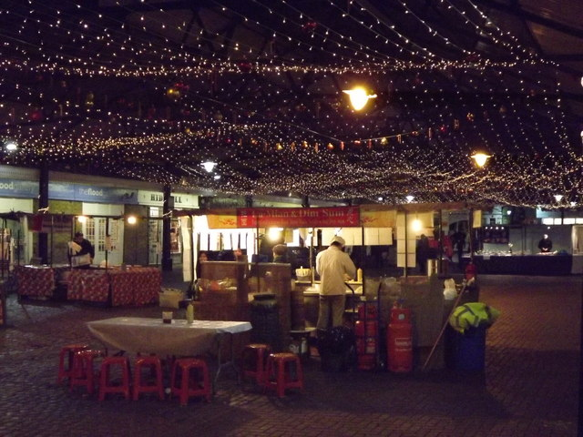 Starry Night, Greenwich Market