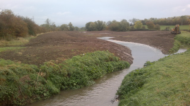 River Chelt's new route