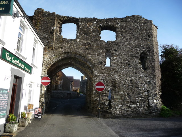 One of the town gates, Kidwelly