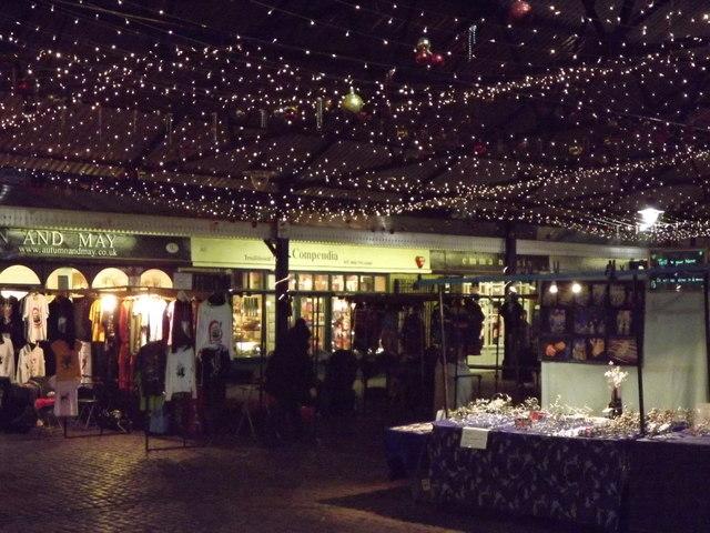 Starry Night at Greenwich Market
