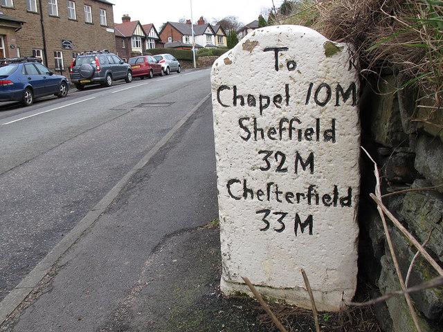 Milestone to Sheffield