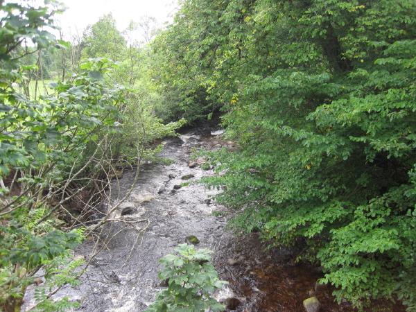 Croglin Water from Croglin Bridge