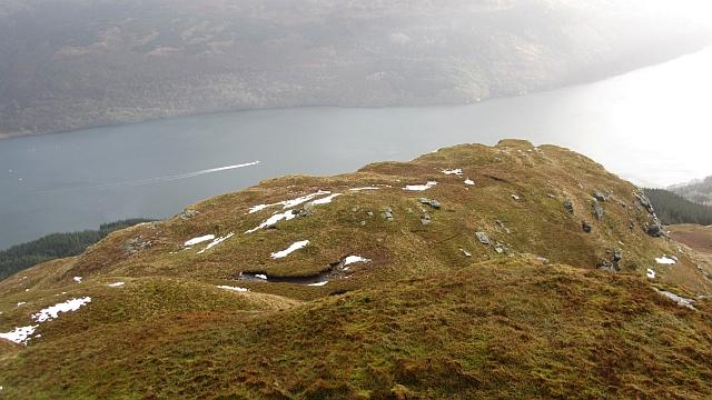 South ridge of Cruach nam Miseag