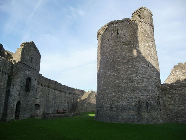 The south-west tower, Kidwelly Castle