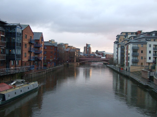River Aire from Centenary Bridge