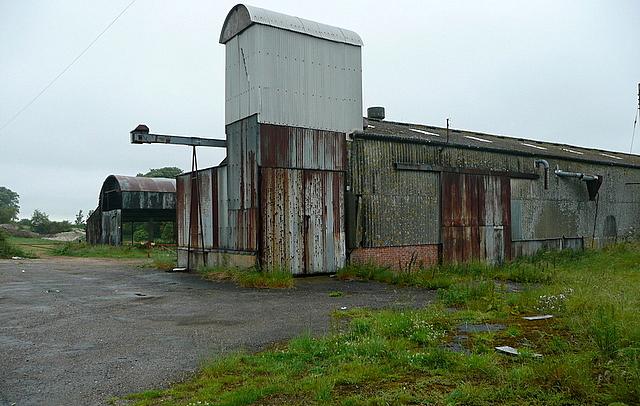 Buildings at Larkwhistle Farm