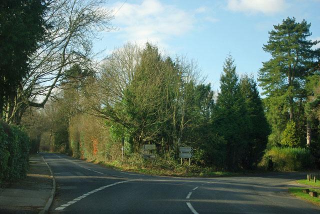 Junction on B2027
