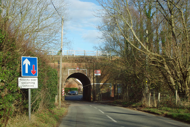 Railway bridge, Leigh