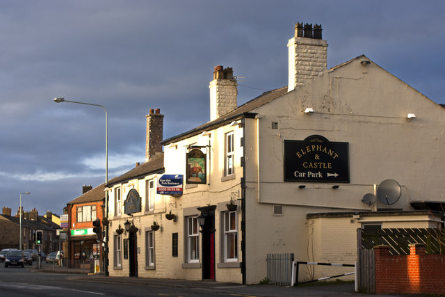 The Elephant and Castle, Anderton