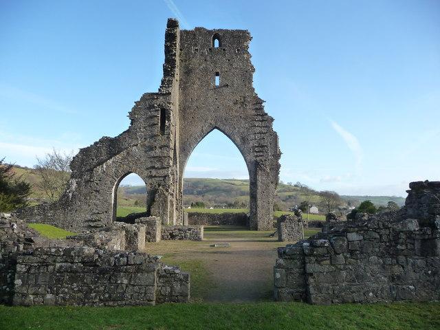 Talley Abbey ruins