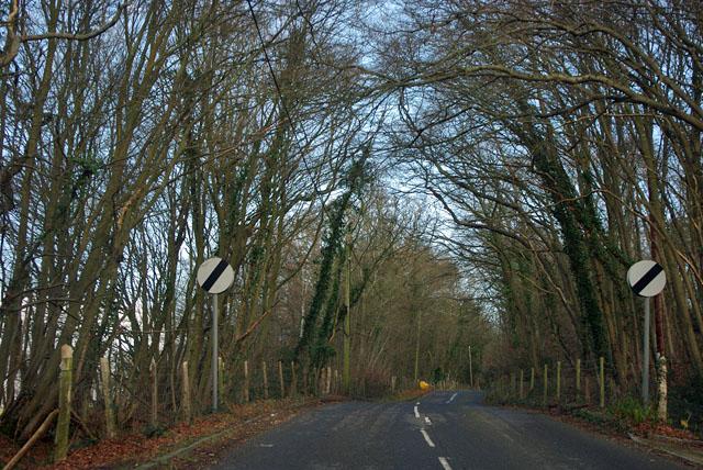 Derestriction on Barden Road