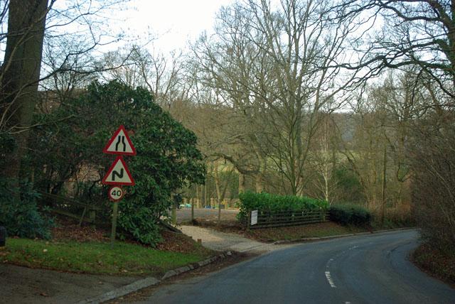 Barden Road - hazards ahead