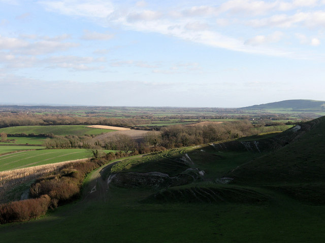 Old Chalk Pit, Firle Beacon