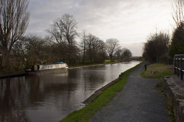 The Leeds and Liverpool Canal at Adlington