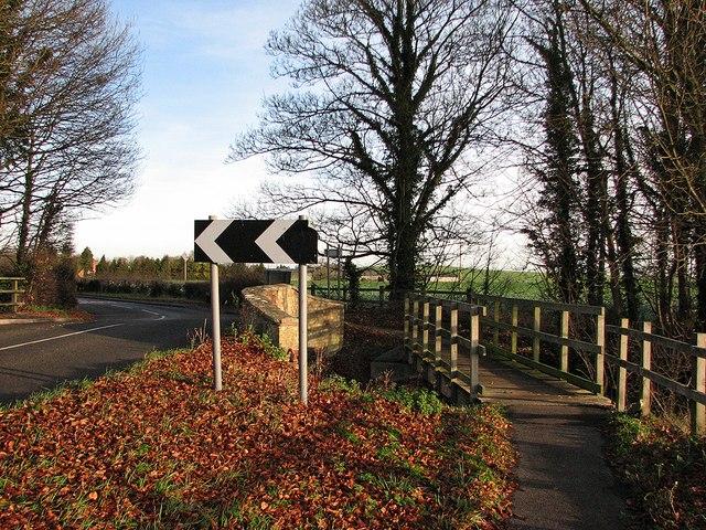 Footbridge at Stone Bridge