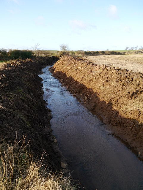 Burn Channel East Of A697